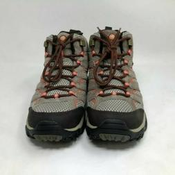 Merrell Women's Moab 2 Mid Waterproof Bungee Cord Hiking Boo