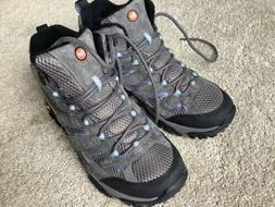 Merrell Women's Moab 2 Mid Waterproof Hiking Boots Granite |