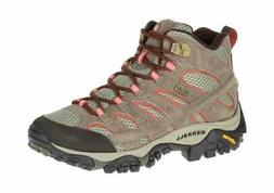 Merrell Women's Moab 2 Mid Waterproof Hiking Boot Bungee Cor