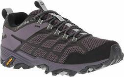 Merrell Women's Moab FST 2 Waterproof Hiking Shoe, Granite/S