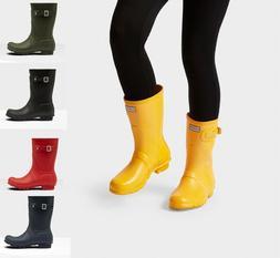 HUNTER Women's Original Classic Short Gloss Matte Rain Boots