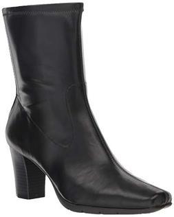 Aerosoles Women's Persimmon Mid Calf Boot, Black, 5.5 M US