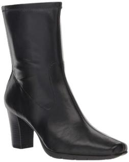 Aerosoles Women's Persimmon Mid Calf Boot Faux Leather Booti