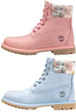 Timberland Women's Premium 6 Inch Waterproof Boots Pink / Li