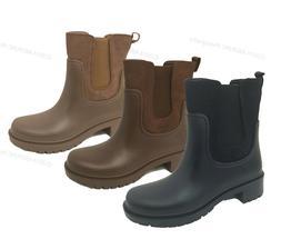 Women's Rain Boots Rubber Elastic Waterproof Short Garden Sn