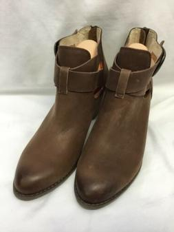 Vionic Women's Rory Leather Bootie SIZE 9.5M Brown