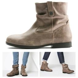 Birkenstock Women's Sarnia Slouchy Ankle Boots Booties Leath