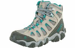 Oboz Women's Sawtooth II Mid Hiking Boots - Drizzle/Aqua