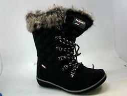 Global Win Women's Shoes ew84zg Boots, Black, Size 6.0 W6kT