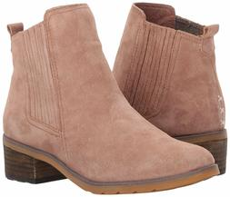 Women's Shoes Reef Voyage Boot Suede Ankle Chelsea Bootie RF