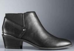 Women's SIMPLY VERA VIENNA Black Zip Up Casual Dress Ankle B