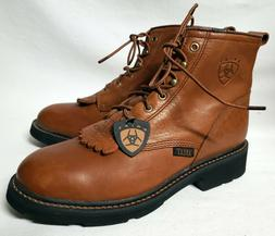 Ariat Women's Size 9.5 Lacer Paddock Cascade Boots Sunshine