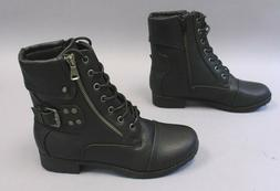 Global Win Women's Strap In Fashion Boots SC4 Black Size US: