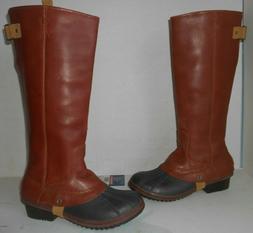 """SOREL"" Women's Sz 10.5 ""Rare"" ""Slimpack"" Waterproof  Boots-"
