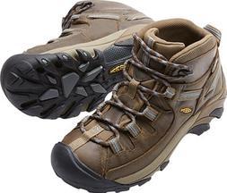 KEEN Women's Targhee II Mid WP Hiking Boot Slate Black/Flint