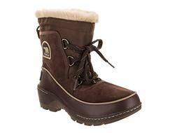 SOREL Women's Tivoli III Snow Boot, Tobacco/Flax, 8 M US