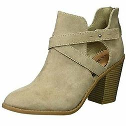 Rampage Women's Vedette Ankle Boot, Taupe Micro, 11, Taupe M