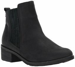 Reef Women's Voyage LE Chelsea Boot, Black/Black, Size 6.5 7
