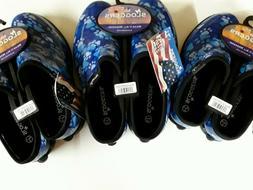 Sloggers Women's Waterproof Comfort Shoes - Paw Print Blue