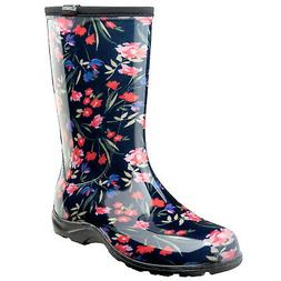Sloggers Women's Waterproof Rain and Gardening Boots - Blue