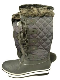 Ladies Women's Waterproof Snow Boots Winter Rain SZ 8  see d