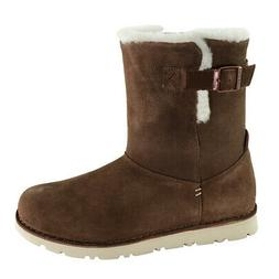 Birkenstock Women's Westford Suede Leather Boots Espresso 39
