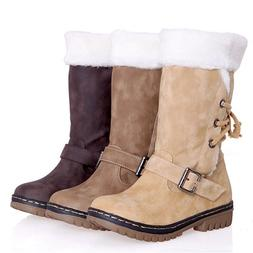 Women's Winter Boots Snow Boot Fur Warm Insulated Waterproof
