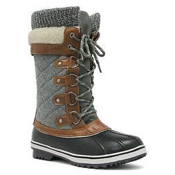 Women's Winter Boots Snow Fur Warm Insulated Waterproof Mid