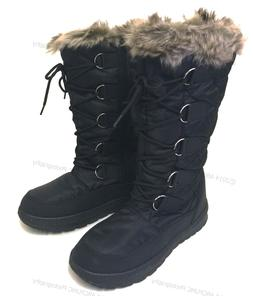 Women's Winter Boots Snow Fur Warm Insulated Waterproof Zipp
