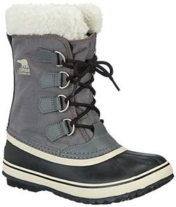 Sorel Women's Winter Carnival Boot,Pewter/Black,10 M US