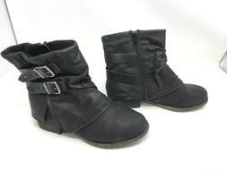 Womens SO  Crabapple Black Boots