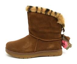 Skechers Womens Adorbs Polar Winter Snow Boot Chestnut Brown