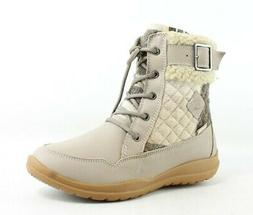 Kamik Womens Barton Taupe Snow Boots Size 7
