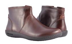 BIRKENSTOCK Womens Bennington Espresso Leather Ankle Boots S