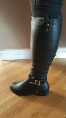 womens black boots variuos sizes 6 through 8.5, 9, 10 top Mo