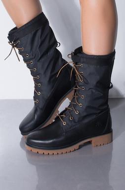 Womens Timberland Boots Jayne Gaiter Waterproof Black Leathe