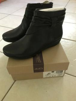 CLARKS WOMENS BOOTS SIZE 10W
