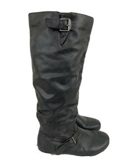 Rampage Womens Boots Size 8 Black Charter Slouchy