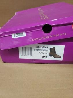Rampage Womens Brown Dress Boots Size 7M