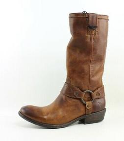 Frye Womens Carson Harness Riding Boots