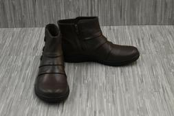 Clarks Womens Cheyn Anne Dark Brown Fashion Boots Size 5