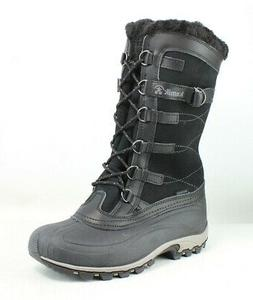 womens citadel black snow boots size 8