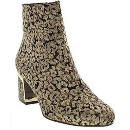 DKNY Womens Corrie Brocade Dress Fashion Ankle Boots Shoes B