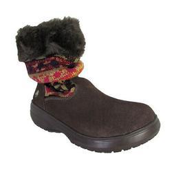 Crocs Womens Cozycrocs Bootie Fairisle Slouchy Boots