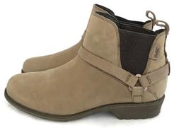 Teva Womens De La Vina Dos Chelsea Waterproof Leather Bungee