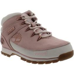 Timberland Womens Euro Sprint Pink Hiking Boots Shoes 8 Medi