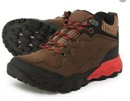 Vionic Womens Everett Brown Hiking Boots Size 10