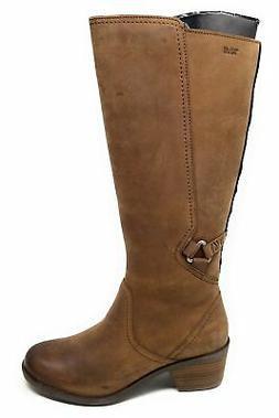 Teva Womens Foxy Tall Waterproof Harness Riding Boots Brown