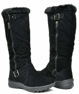 Dream Pairs Womens Fur Lined Winter Boots Size 8