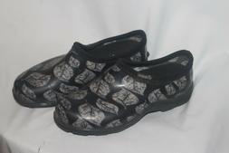 Womens SLOGGERS gardening shoes leaf design size 6US